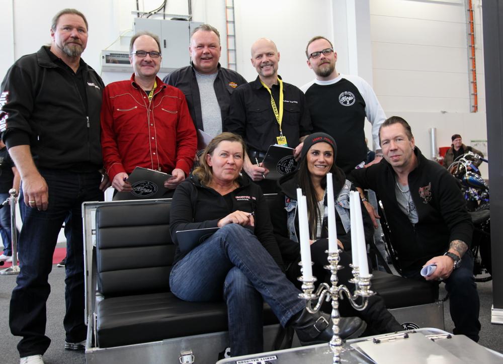 Jury-Kollegen von Bikers News, Bikers Power und anderen