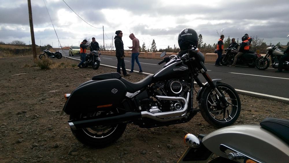 Eins meiner Opfer: Harleys neue Sport Glide