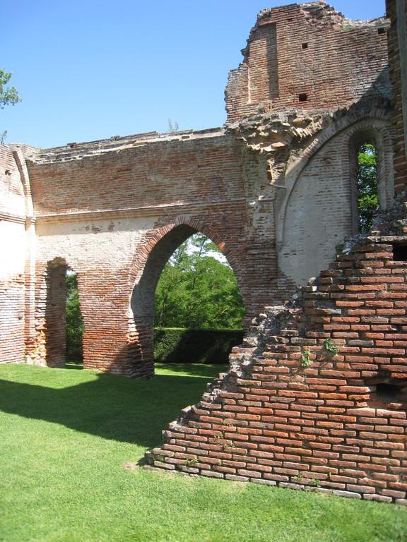 ruines du Château du Castella St Sulpice La Pointe (Tarn)