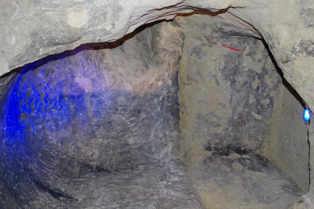 cavité dans le souterrain