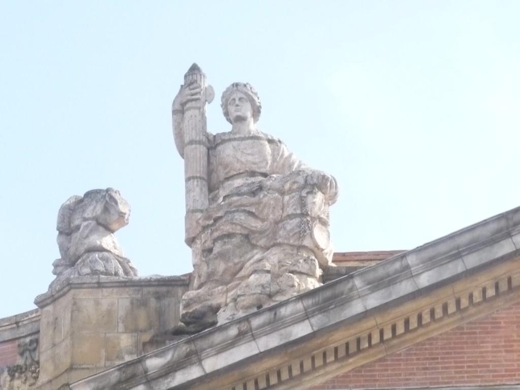 sculpture sur le Capitole