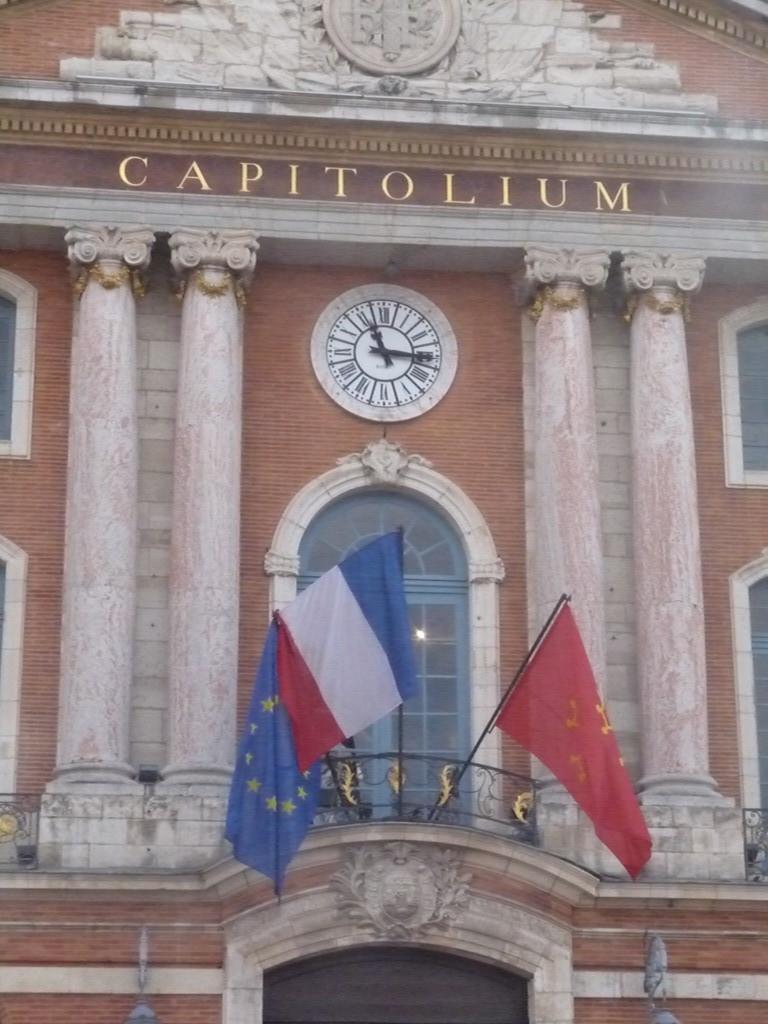 horloge de la mairie