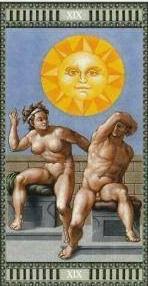 Tarot Michelangelo - XIX Le Soleil