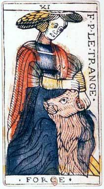 XI La  Force - Le Tarot de Jean Dodal