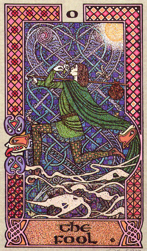 Le Fou - Le tarot Celtique