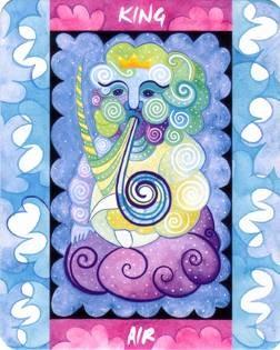 Roi d'Air - Le Tarot des Quatre Éléments
