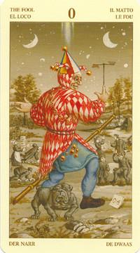 Le Fou - Le tarot Bruegel