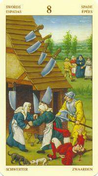 8 d'Épées - Le tarot Bruegel