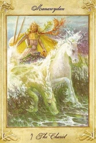 VII Le Chariot - Llewellyn Tarot