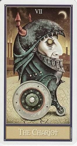 VII Le Chariot - Le tarot Deviant Moon