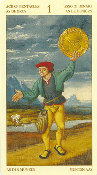 As de Deniers - Le tarot Bruegel