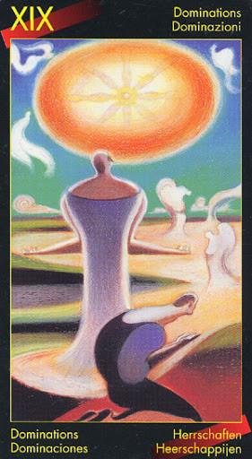 XIX Le Soleil - Le tarot de Dante