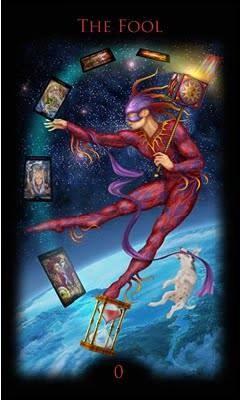 Le Fou - Legacy of the Divine Tarot