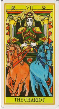 VII Le Chariot - Le tarot de la Roue de Dame Fortune