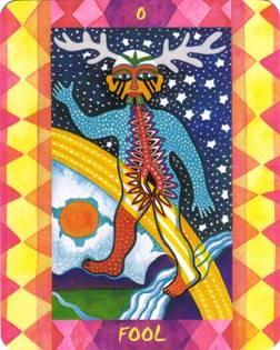 Le Fou - Le Tarot des Quatre Éléments