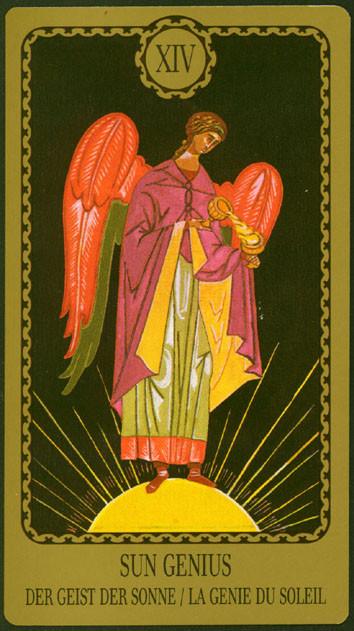 XIV Tempérance - Le tarot Egorov