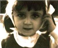 Portrait de Maria Distefano enfant