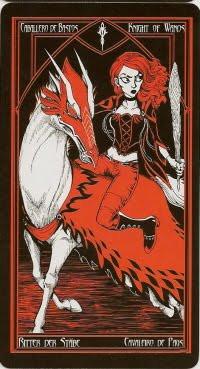 Chevalier de Bâtons - Le tarot Cruel Thing