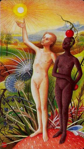 XIX Le Soleil - Le tarot Bosh