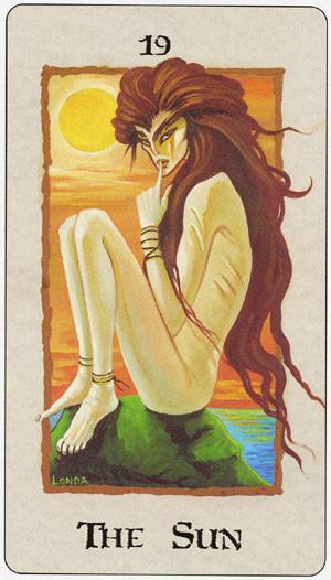 XIX Le Soleil - Londa Tarot