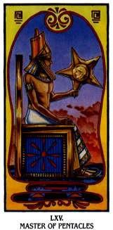 Ibis Tarot - Roi de Deniers