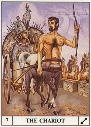 VII Le Chariot - Le tarot Ansata