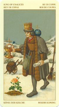 Roi de Coupes - Le tarot Bruegel