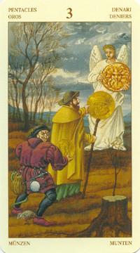 3 de Deniers - Le tarot Bruegel