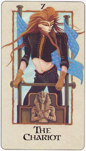 VII Le Chariot - Londa Tarot