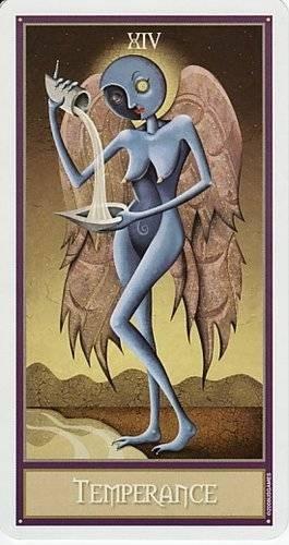 XIV Tempérance - Le tarot Deviant Moon