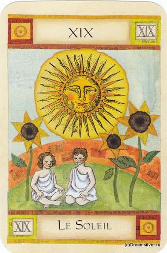 XIX Le Soleil - Art of Tarot