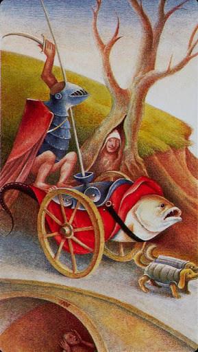 VII Le Chariot - Le tarot Bosh