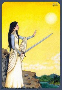 As d'Épées - Le tarot d'Anna K.