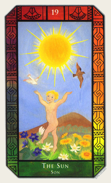 XIX Le Soleil - Tarot Kalevala