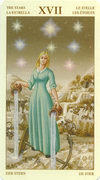 XVII L'Étoile - Le tarot Bruegel