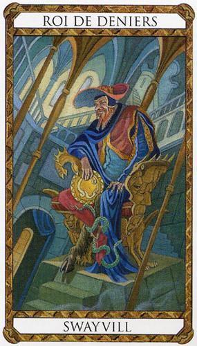 Roi de Deniers - Le tarot d'Ambre