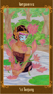 Javanese Folktales Tarot - XIV Tempérance