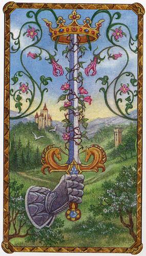 As d'Épées - Le tarot d'Ambre