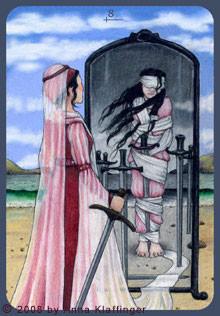 8 d'Épées - Le tarot d'Anna K.