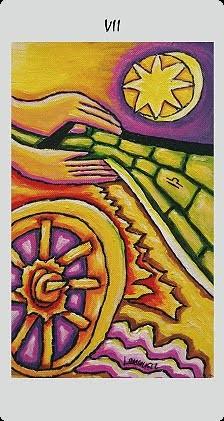 VII Le Chariot - Langustl Tarot