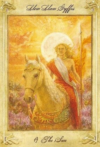 XIX Le Soleil - Llewellyn Tarot