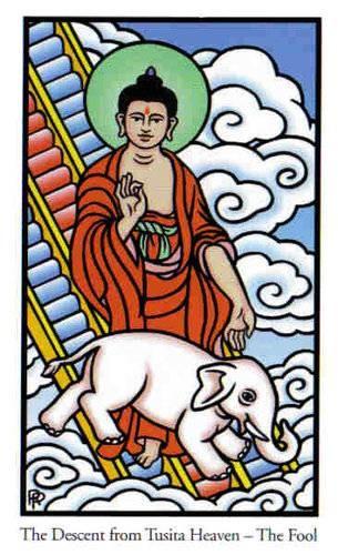 Le Fou - Le tarot de Bouddha
