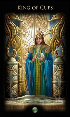 Roi de Coupes - Legacy of the Divine Tarot