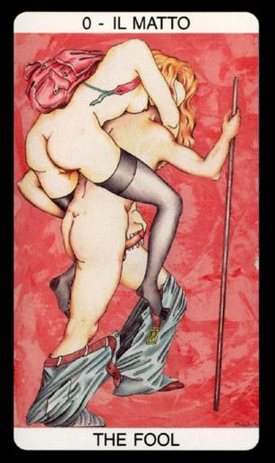 Tarot érotique du jardin de Priape - Érotique - Le Mat