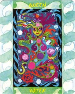 Reine d'Eau - Le Tarot des Quatre Éléments