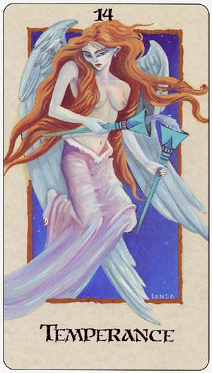 XIV Tempérance - Londa Tarot