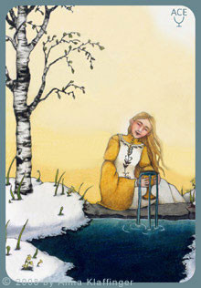 As de Coupes - Le tarot d'Anna K.