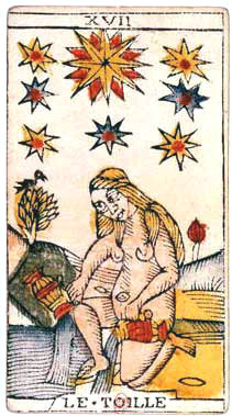 XVII L'Étoile - Le Tarot de Jean Dodal