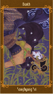 Javanese Folktales Tarot - XIII