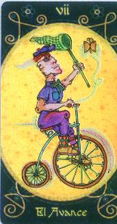 VII Le Chariot - Le Tarot Macondo